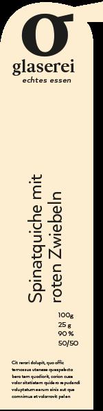 Glaserei Etikett von Simone Angerer.