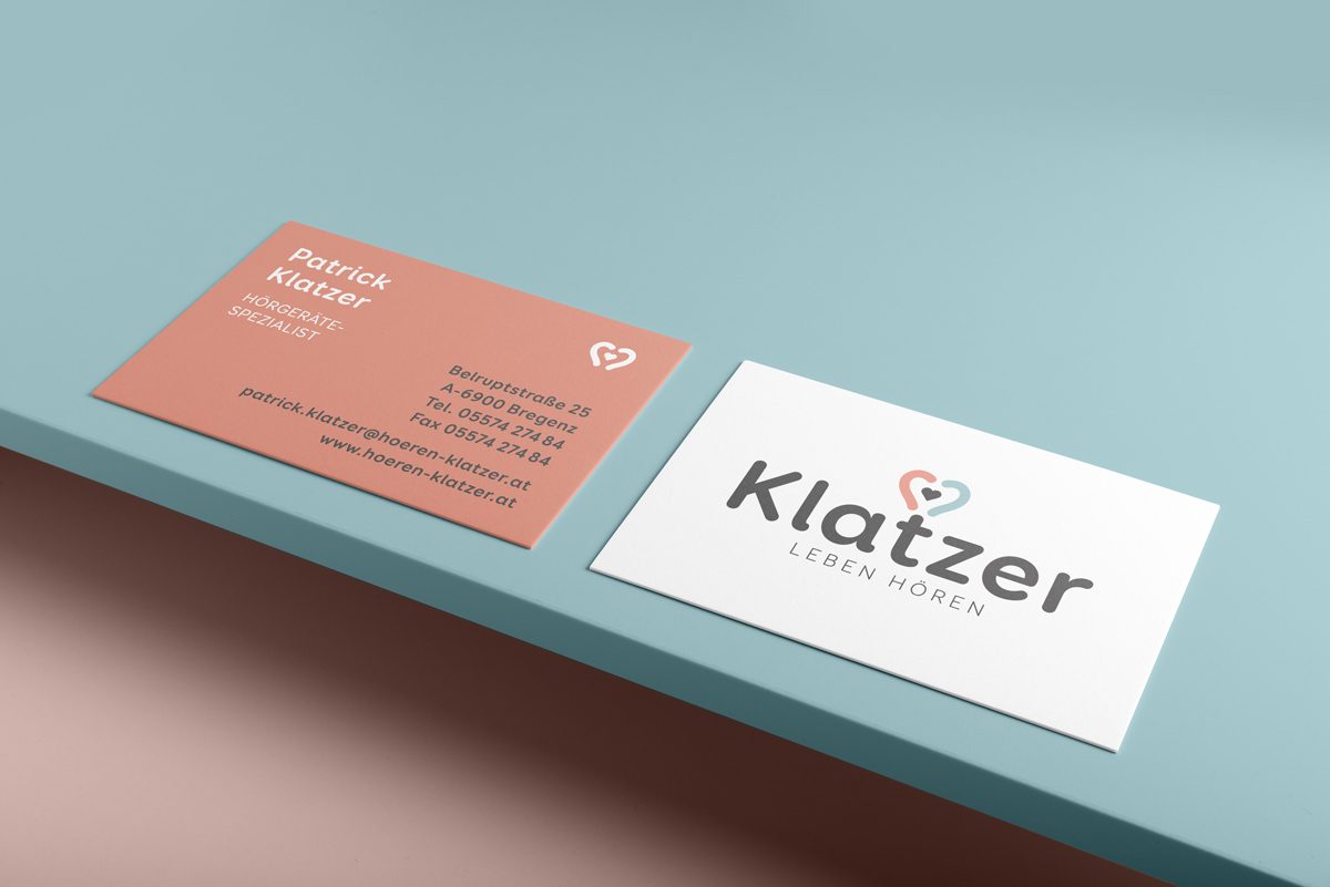 Klatzer Visitenkarten von Simone Angerer.