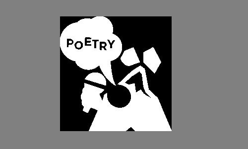 Ländleslam Poetry Slam Logo Vorarlberg.
